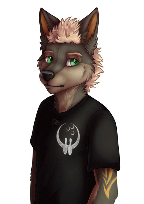 furry wolf by kraficat on deviantart