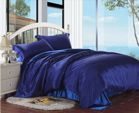 king size blue comforter sets reactice printing tencel silk bedding set king size home