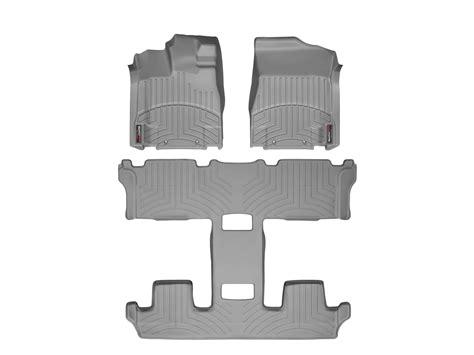 weathertech 174 floor mats floorliner for nissan quest 2011 2015 grey ebay