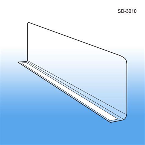 Retail Shelf Dividers by Econo Line Shelf Dividers 3 Quot X 10 Quot Retail