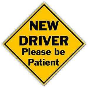car for new driver new driver sticker ebay