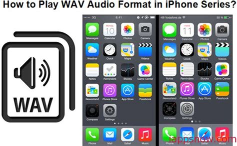 Audio Format On Iphone | how can i convert wav to mp3 for playing in all iphone series