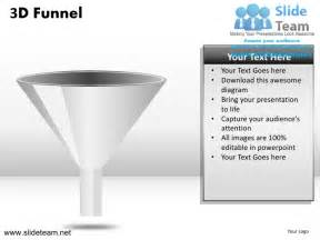 3d sales funnel powerpoint ppt templates