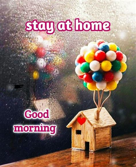 covid stay safe good morning images