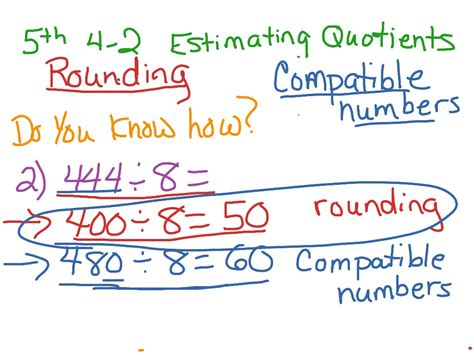 Estimating Quotients Using Compatible Numbers Worksheet by Estimating And Rounding Worksheets By Free Factor