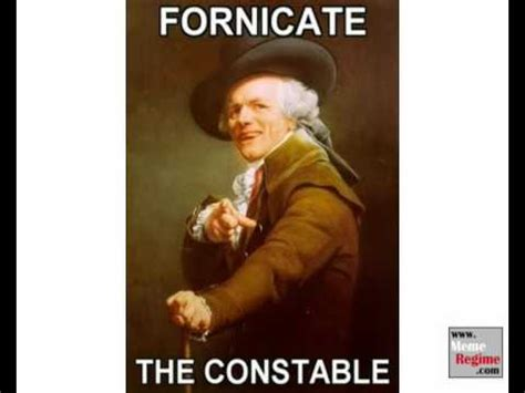 Old English Rap Meme - joseph ducreux archaic rap meme youtube