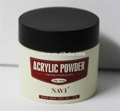 acrylic powder colors industrial glitter color acrylic powder three colors