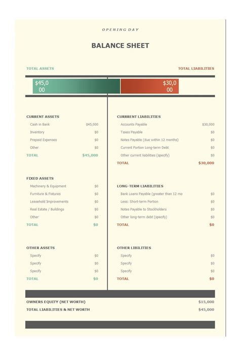 balance sheet excel template download by tablet desktop original