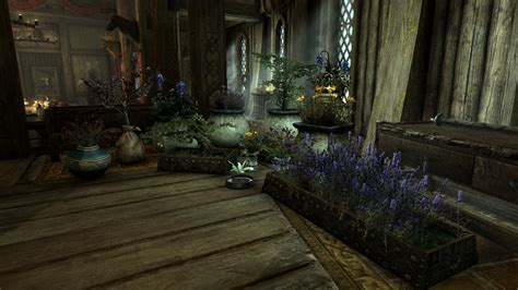 skyrim home decor house decorations plants and flowers traduzione