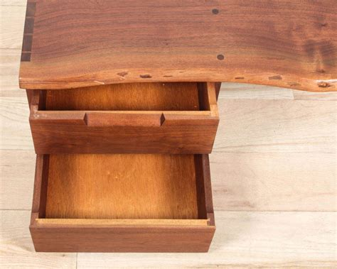 george nakashima wall mounted shelf with drawers for sale