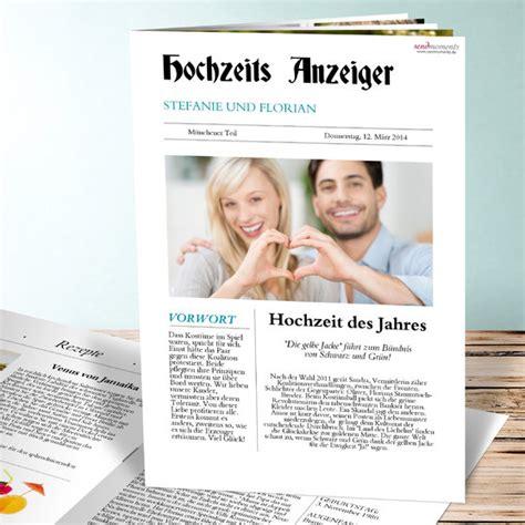 Hochzeit Zeitung by Hochzeitszeitung Zeitung Detail