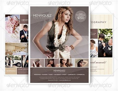 photography brochure templates free photography brochure template free 20 professional flyer