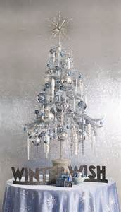 icicle tree cre8ive christmas white cream silver gold