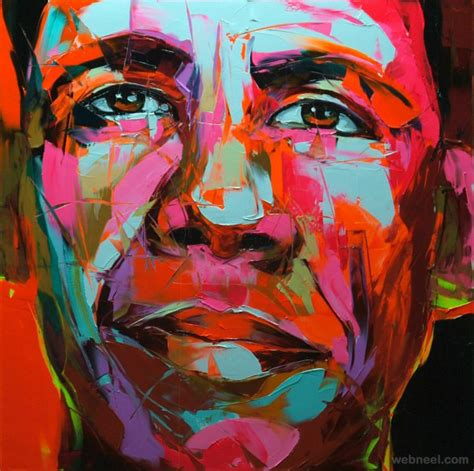 colorful painting 25 vibrant and explosive colorful paintings by francoise nielly