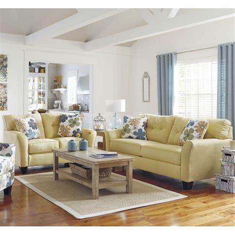 ashley furniture living room sale kylee goldenrod living room set ashley furniture sale