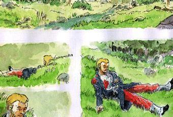 Le Dormeur Du Val Commentaire Composé by Douce Torpeur Paperblog