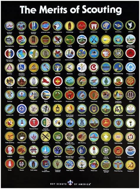 names of all eagle scouts 25 best ideas about merit badge on diy