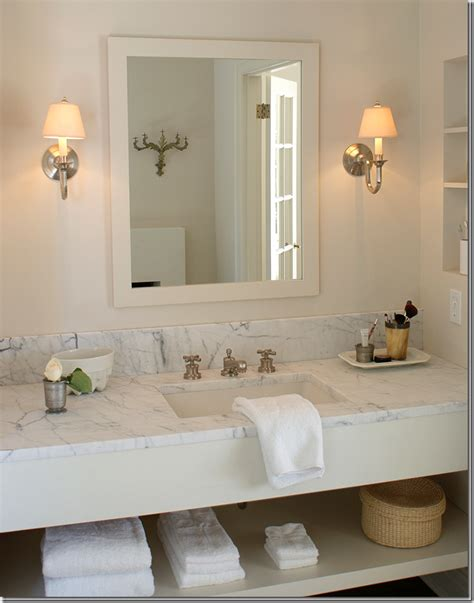 cream marble bathroom c b i d home decor and design the powder room small
