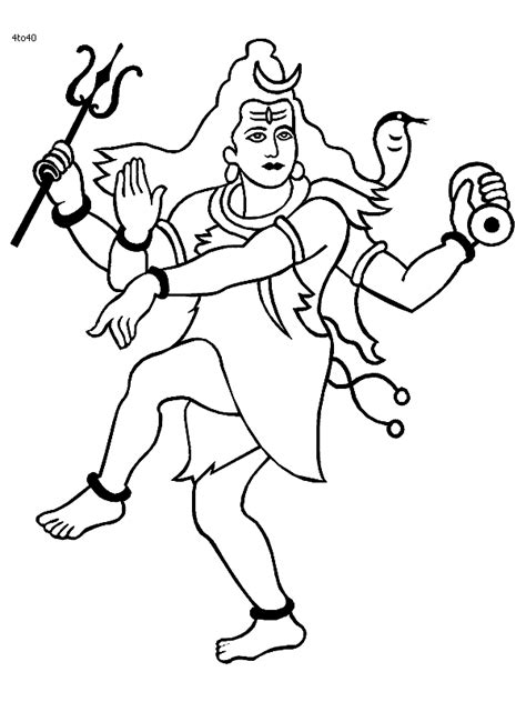 lord shiva coloring sheets coloring pages