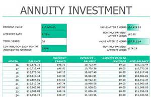 Future Value Excel Template by Annuityf Excel Sheet Annuity