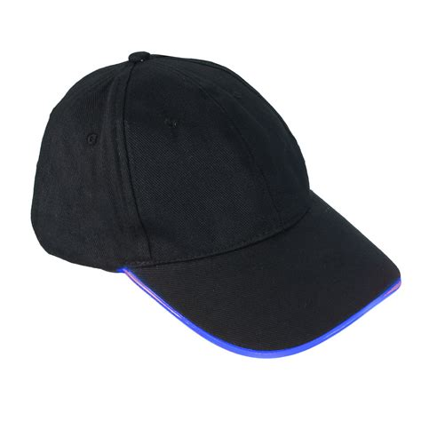 lighted hats fashion led lighted glow club outdoor sports
