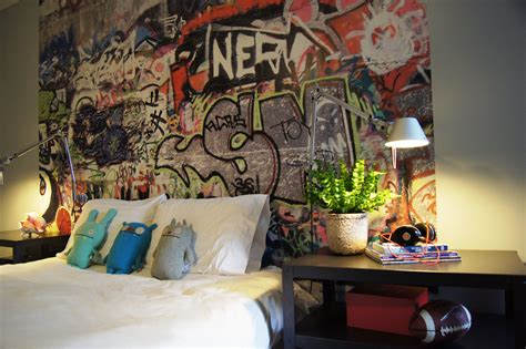 graffiti wallpaper bedroom teenage boys room graffiti interiors pinterest