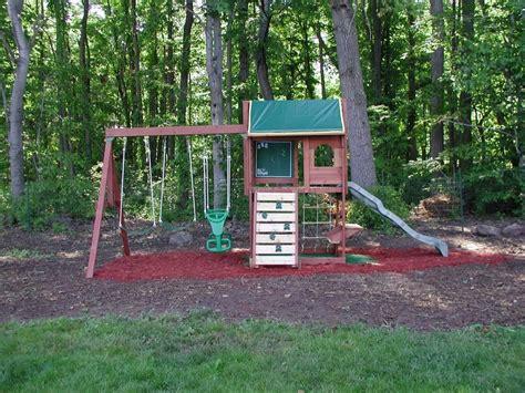 backyard swing set swingset designs big backyard pine ridge iii swing set