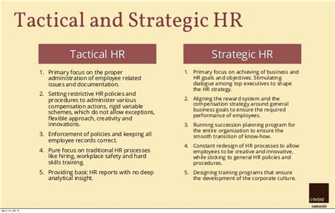 hr strategy hr strategy what is it why do we need it