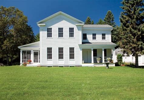 new revival farmhouse house restoration