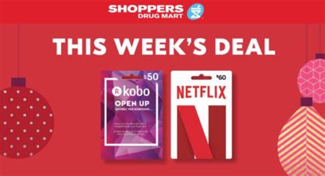 shoppers drug mart canada netflix pre black friday deals get a 5 shoppers drug mart - Get Netflix Gift Card Canada