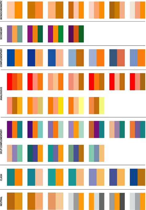 color combination for orange best 25 orange color schemes ideas on pinterest blue
