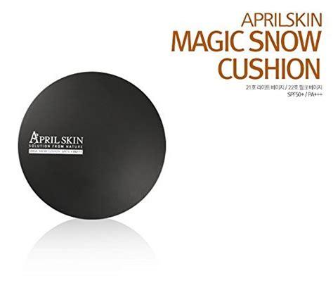 Diskon April Skin Magic Snow Cushion Spf50 New Original Black Version april skin magic snow cushion spf 50 pa