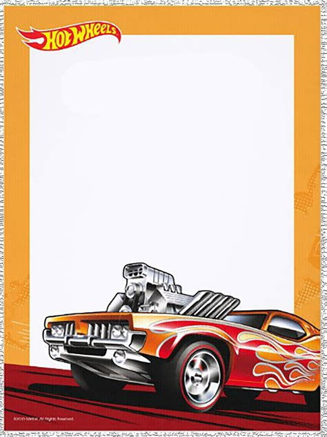 printable birthday cards hot wheels free printable hot wheels invitation templates for download
