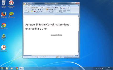 agrandar iconos escritorio como agrandar los iconos escritorio windows 7