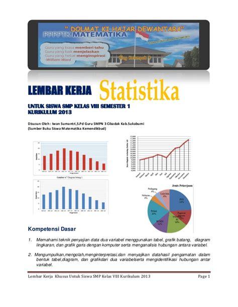 Explore Ipa Untuk Smp Mts Kelas 7 Kur 2013 Revisi lk khusus materi statistika smp