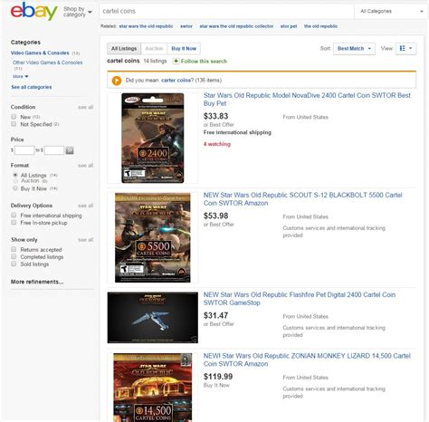 Can I Buy An Ebay Gift Card Without Paypal - swtor juvenile rancor pets from cartel coins dulfy