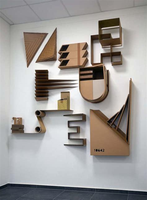 letters art   corrugated cardboard zerhusen