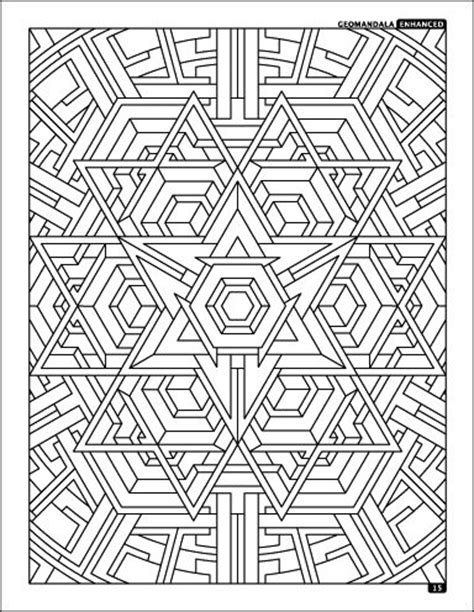 geometric coloring pages advanced 17 best images about advanced coloring pages on pinterest