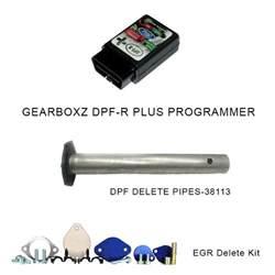 Ford 6 4 Dpf Delete Kit Gearboxz Dpf R Plus Programmer Dpf Delete Pipe And Egr