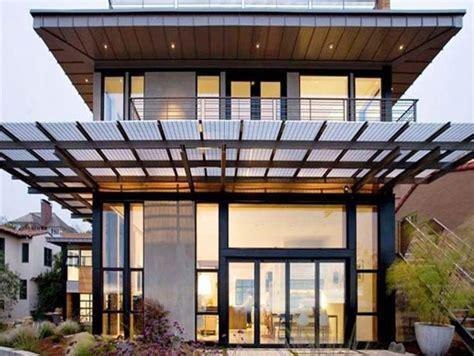 desain foto gantung 27 desain kanopi rumah minimalis baja ringan berbagai