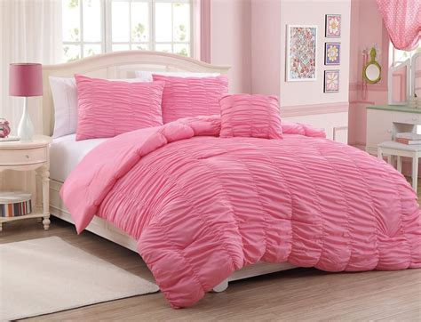 pink bed spread the beauty of pink comforter sets home and textiles