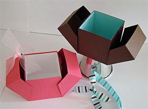 Origami Birthday Box - cool box stuff to try origami boxes and