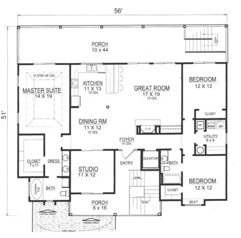 reverse floor plan beach house reverse floor plans house plans