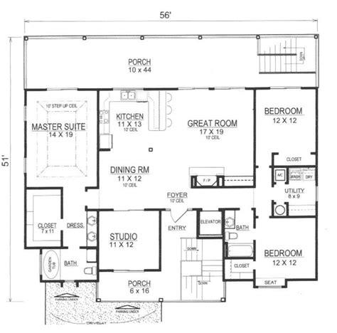 reverse floor plan beach house reverse floor plans house plans