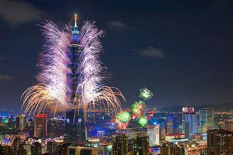 new year 2015 dates taiwan taipei 101 fireworks 台北101煙火 2009 summer deaflympics