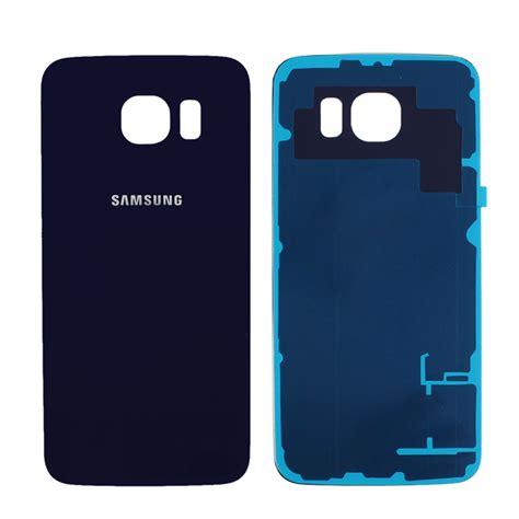 Backdoor Samsung Galaxy S6 Edge original back door battery glass rear cover for