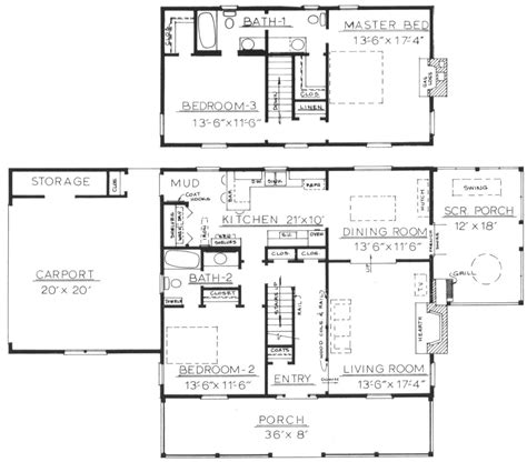 space saving floor plans plan inspired design ideas space saving house plans