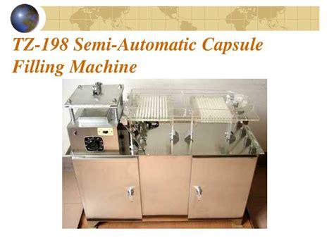 table top semi automatic capsule filling machine ppt kapsul powerpoint presentation id 5696263