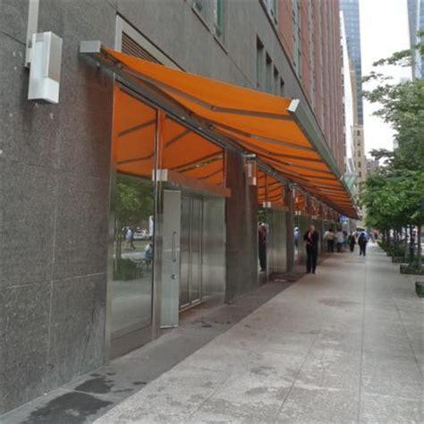 orange awning tribeca citizen nosy neighbor what are those orange awnings for