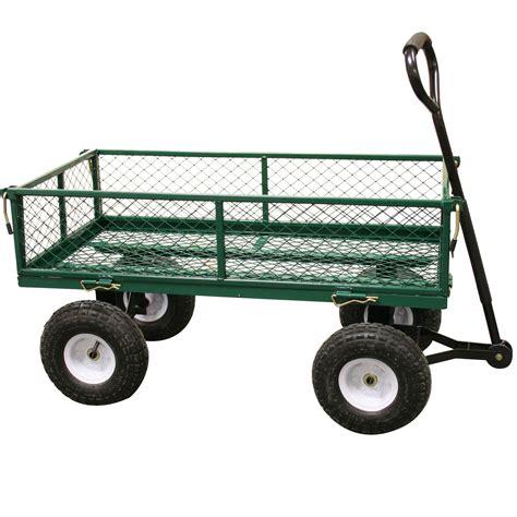 Sho Metal Ukuran Kecil heavy duty garden trolley cart foto gambar